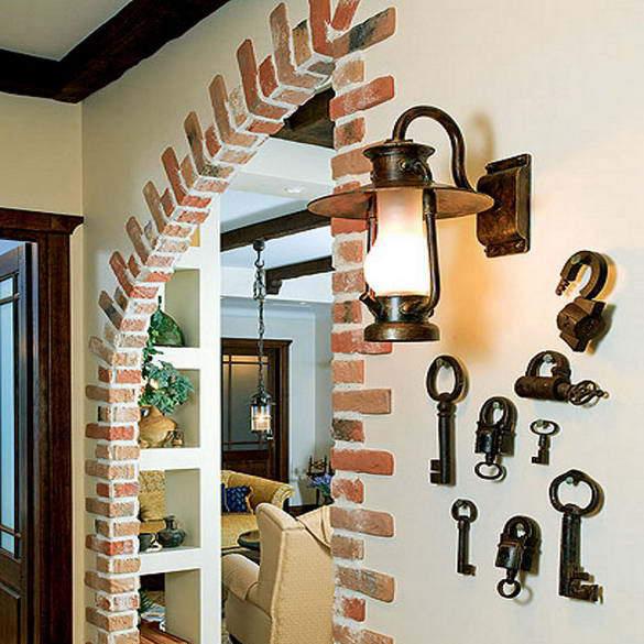 Обозначение в схемах Декор стен кирпичиками фото